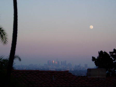 Full Moon over Los Angeles