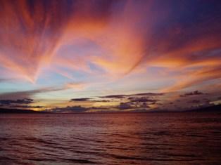 Maui Sunset In November