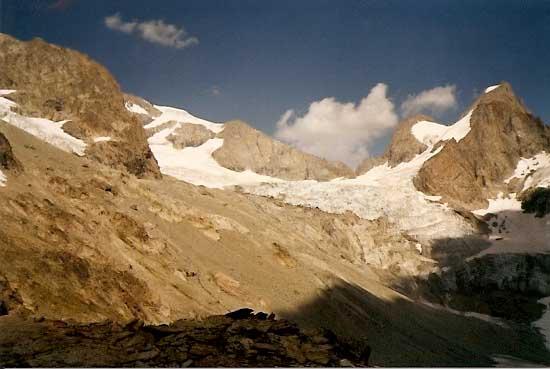 Glacier Alpes Briancon Ete 1989