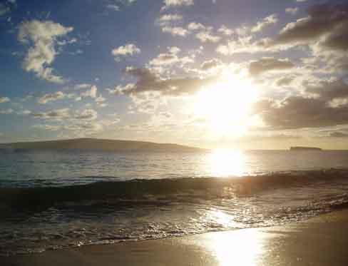 Thoughts Dreams Manifestations Maui Big Beach