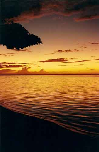 Moorea Sunset Light Prevails