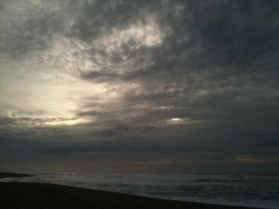 Sun Light through Darkness Point Reyes Manifestation
