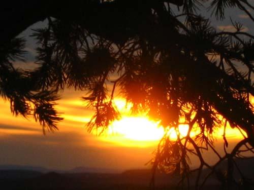 Sedona Sunset Awakening Eye